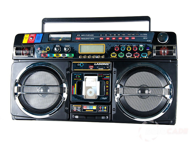 Lasonic i931 boombox graduated culture - Ghetto blaster lasonic i931 ...